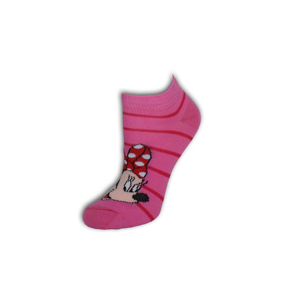 Minnie egér gyerek titokzokni - pamut titokzokni - 31-34 - rózsaszín