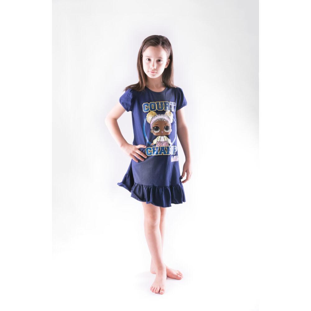LOL Baba pamut szabaidő gyerekruha – sötétkék - 128